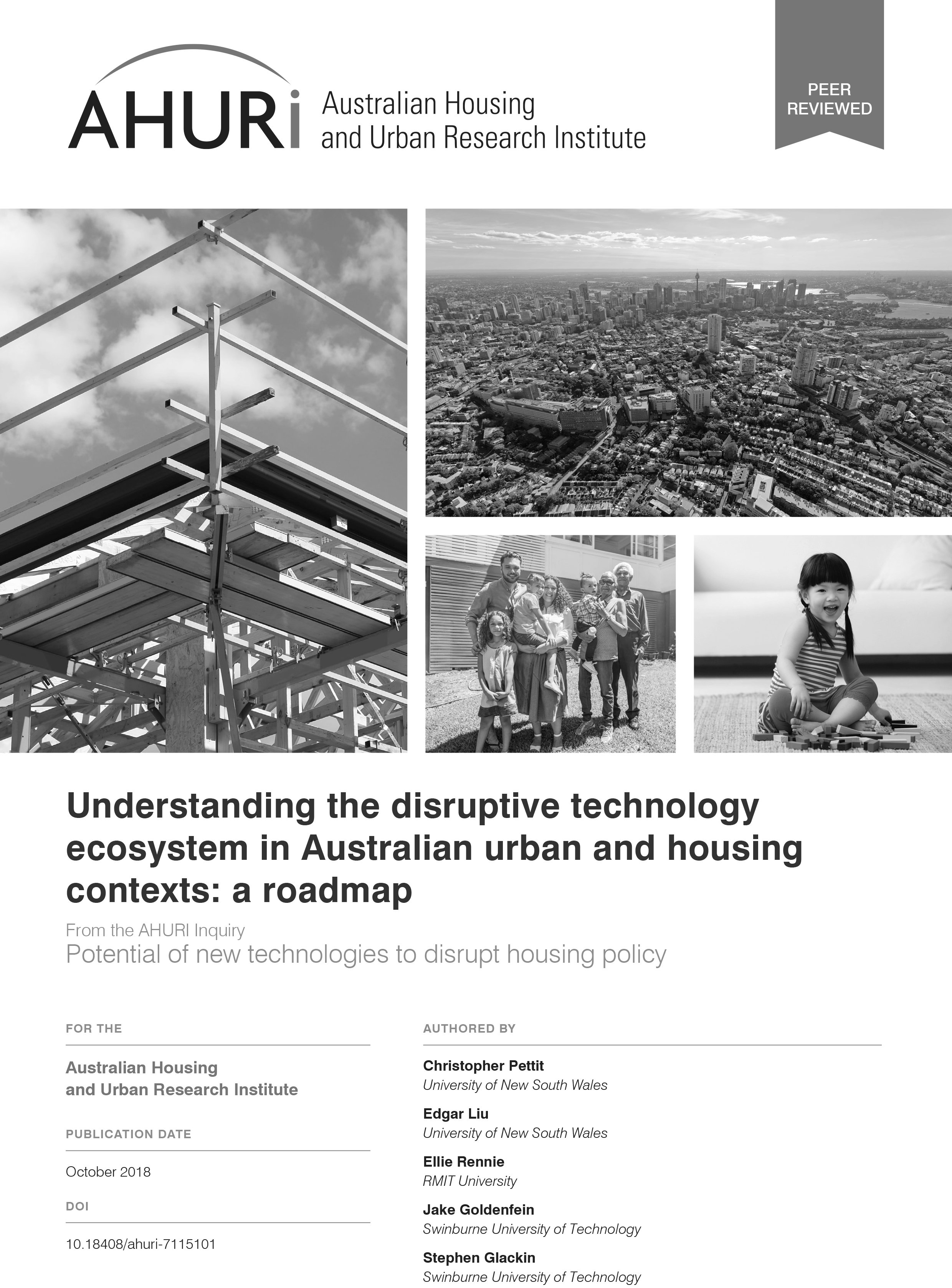 Final Report - Understanding the disrutptive technology ecosystem