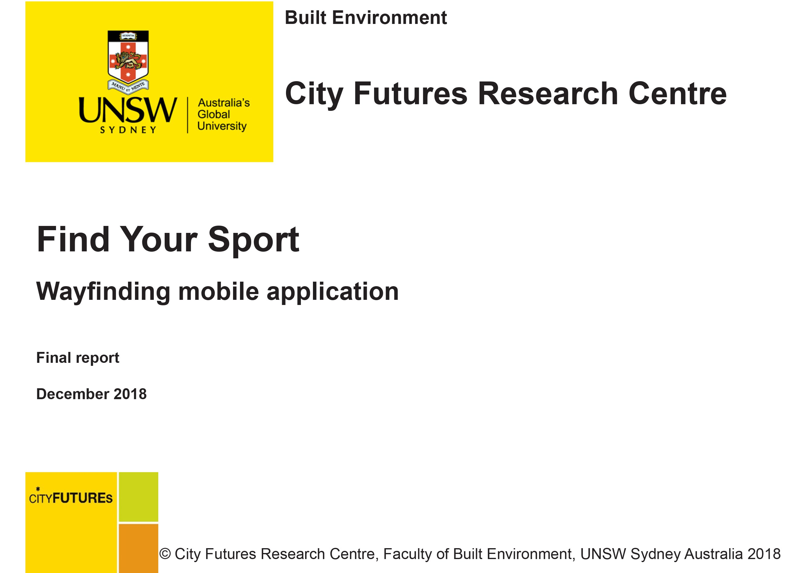 Find_Your_Sport_Report